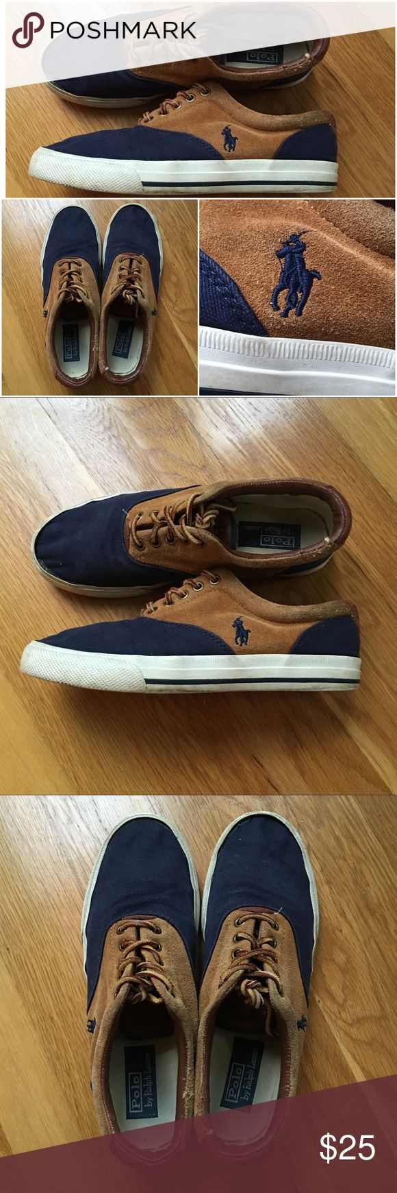 🔷Men's Polo Shoes🔷 Men's Polo Shoes SIZE 9 - these shoes are in great condition! Let me know if you have any questions. Polo by Ralph Lauren Shoes Sneakers
