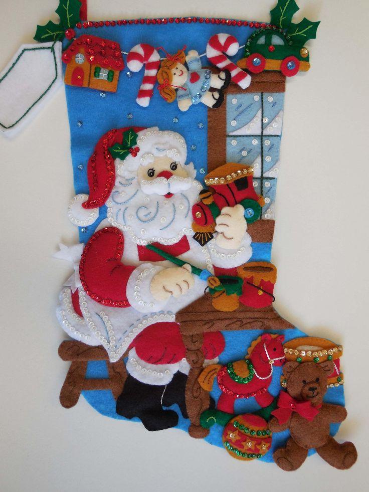 Final media de la Navidad  en el taller