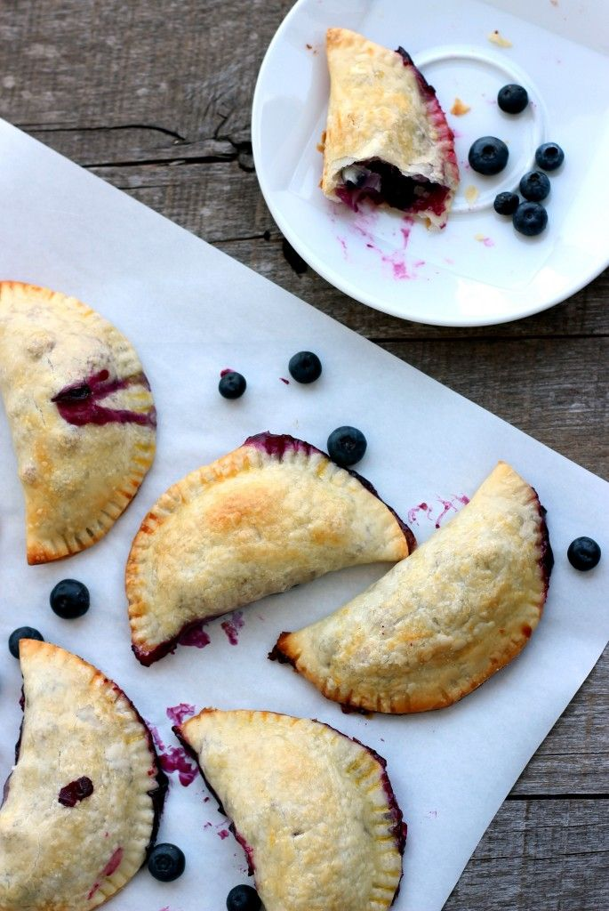 Easy Blueberry Hand Pies - Dish by Dish