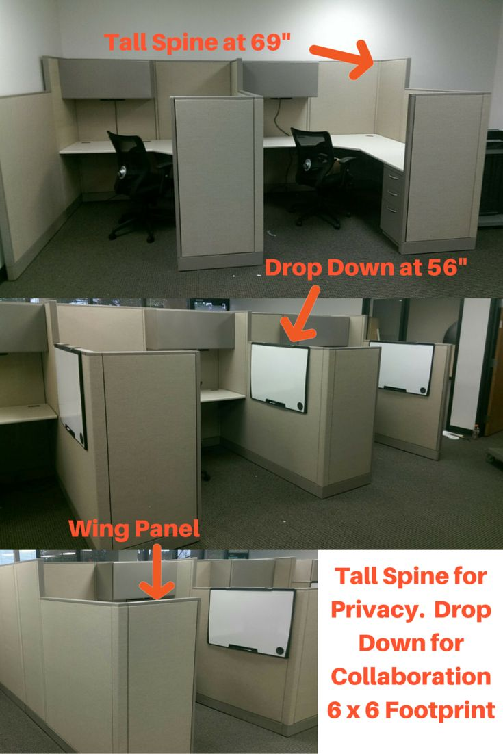 Diy office cubicle door - Find This Pin And More On Used Office Cubicles Used Cubicles Used Cubicles For Sale Modular Workstations Office Cubes