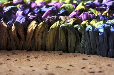 "Saatchi Art Artist Graziella Coi; Painting, ""12x12_Multicolor Flowers (Detail 2)"" #art"