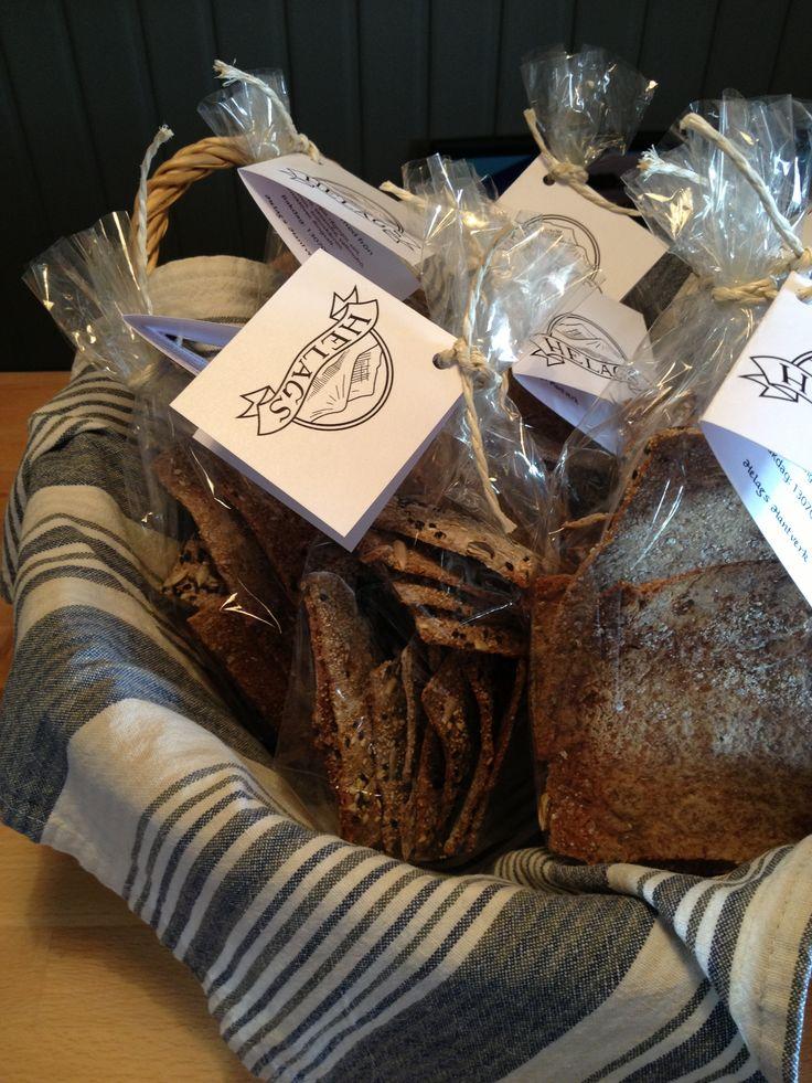 Swedish hardbread with seasalt.