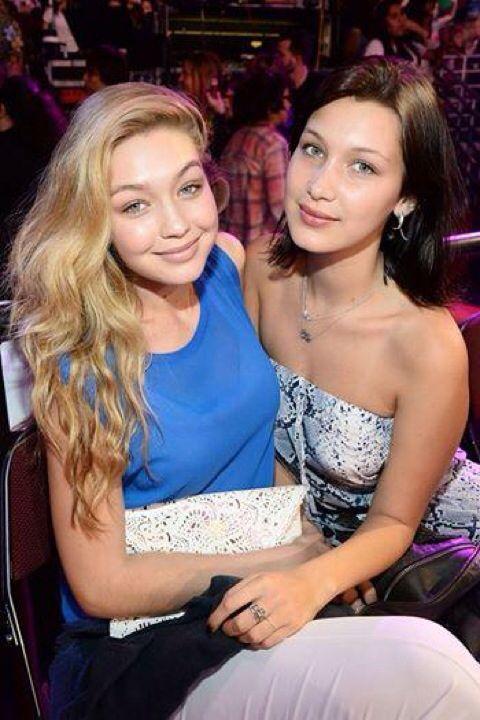 Gigi Hadid and her younger sister Bella Hadid. | GIGI ...