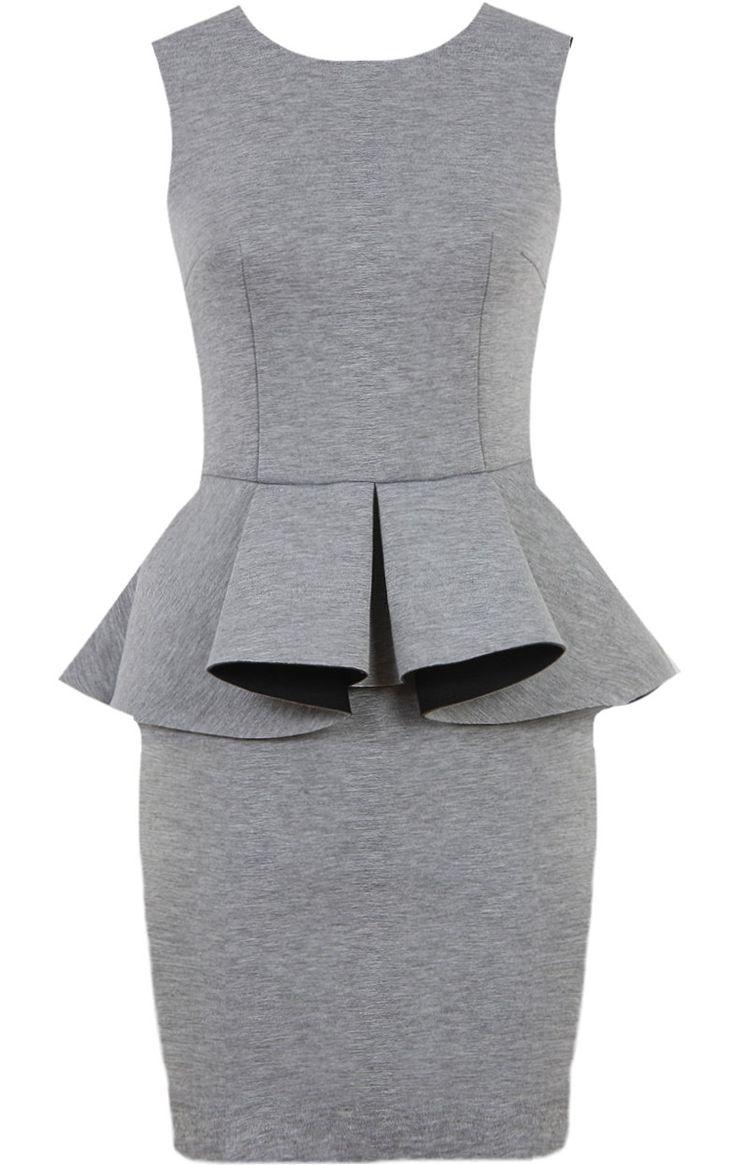 Executive Peplum Dress by Rickety Rack