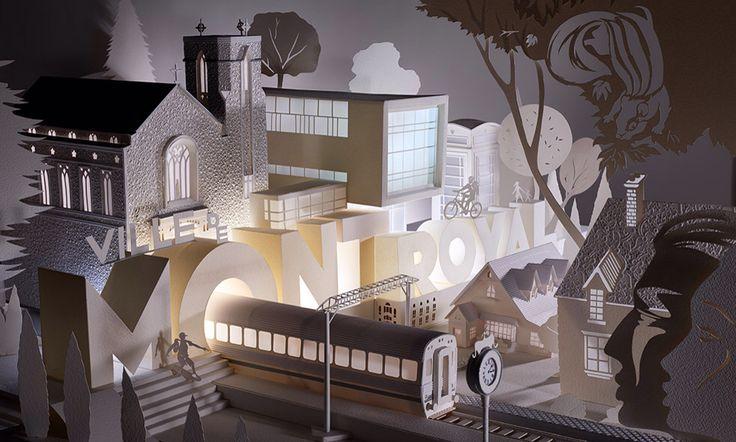 3D model for Ville de Mont-Royal Quebec www.stuart-mcLachlan.com