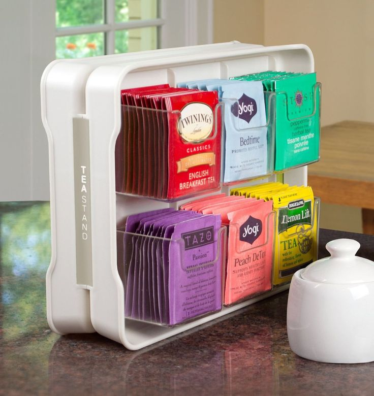 Everyone on Amazon Is Obsessed With This Tea Bag Organizer - WomansDay.com