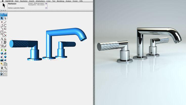 CAD - 3D Rendering fotorealistisch