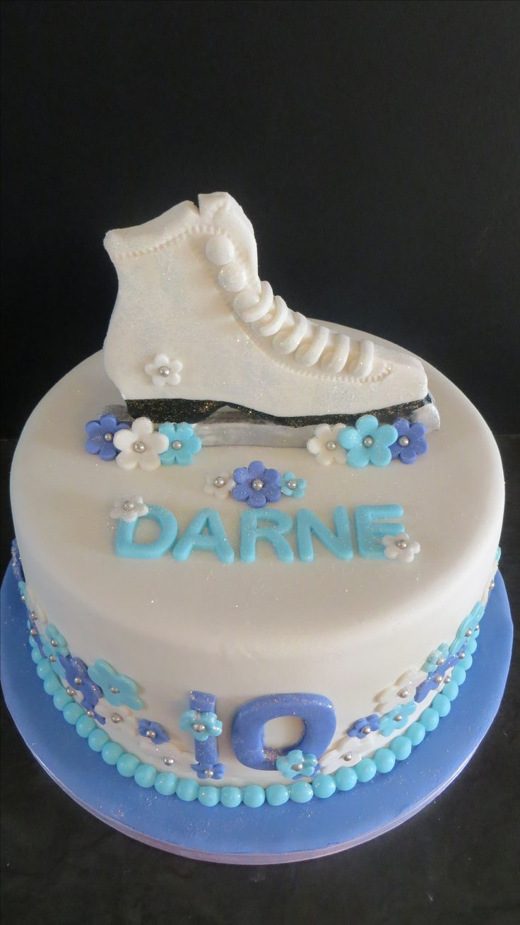 Ice Skating Cake Cakes For Women Amp Girls Pinterest
