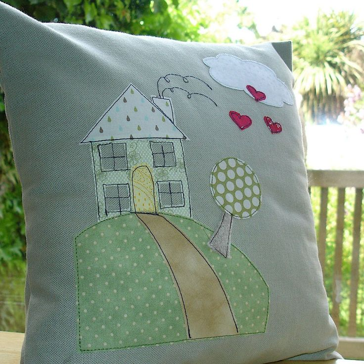 Handmade cushion for sale on  littlewrengifts £32.  Love it.