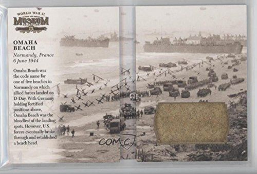 Omaha Beach (Trading Card) 2016 Upper Deck Goodwin Champions - Museum Collection World War II Booklet Relics #MCWWII-OB
