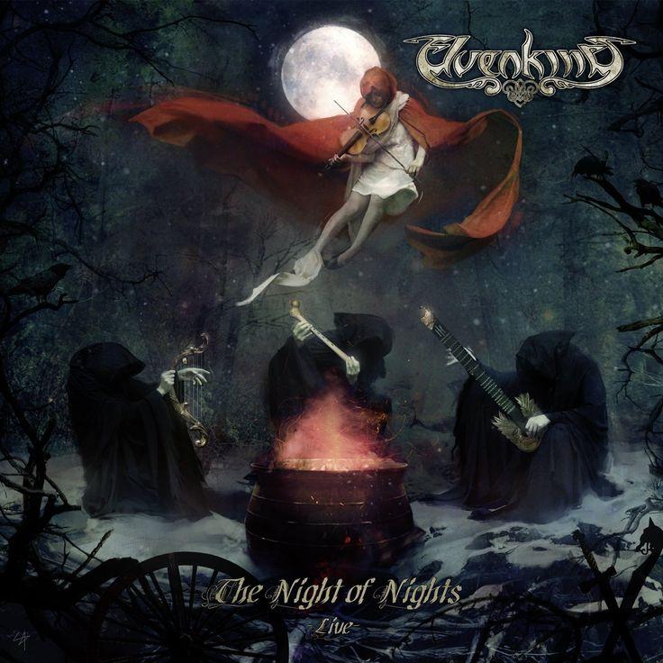Elvenking [The Night of Nights -Live-]. 2015.  Artwork : Sam Araya.