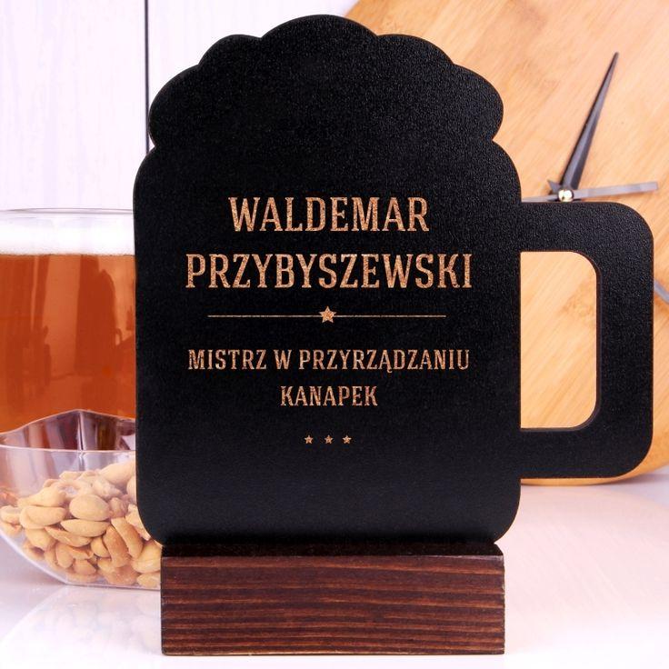 Personalizowana tabliczka kredowa MISTRZ