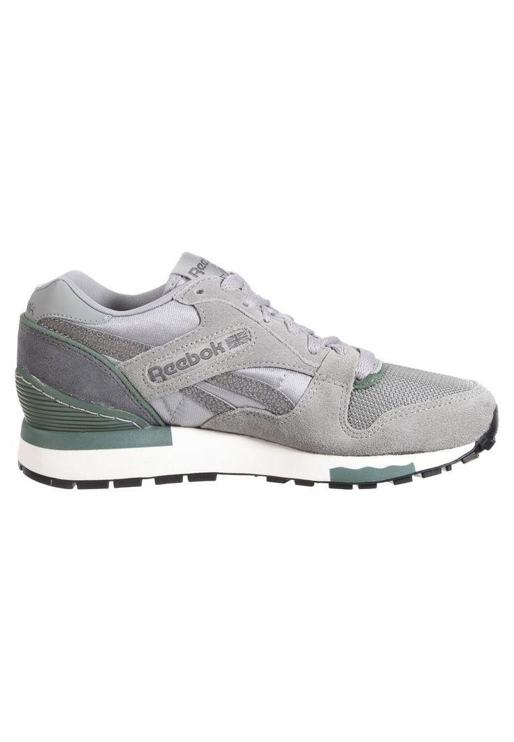new product 5dca3 95197 ... reebok gl 6000 grey white green ...