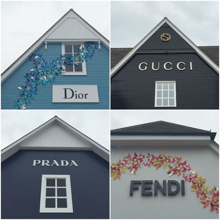 Luxury Shopping at Bicester Shopping Village, Oxfordshire