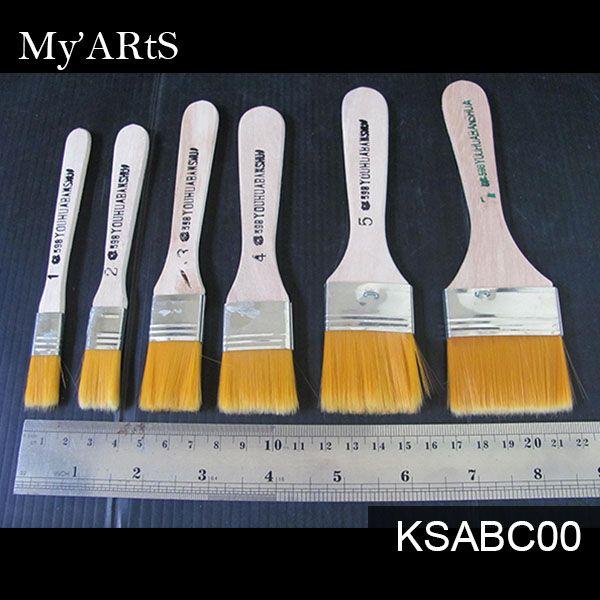 Abc Brush 598 Kuas Decoupage Satuan Decoupage Kuas Lukis Kuas