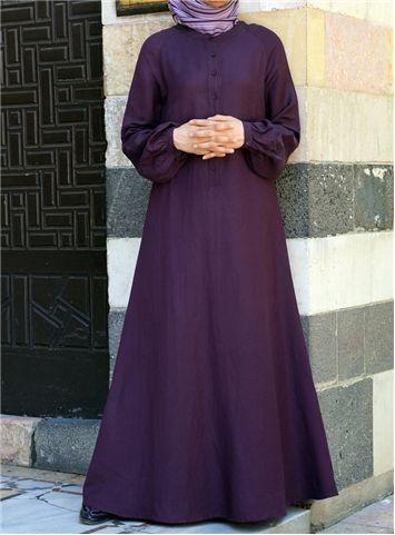 SHUKR International | Classic Flared Sleeve Dress