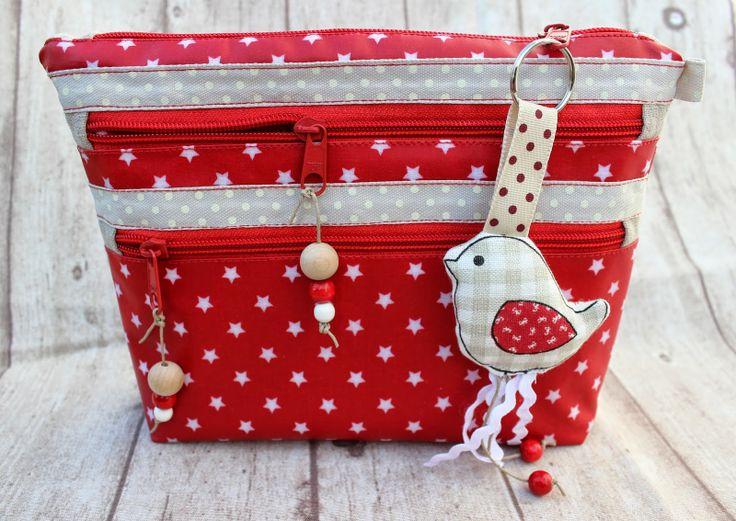 Ordnungshelfer by Der Rabe im Schlamm, pattern by farbenmix.de #sewing #handmade #patterns #nähen #taschen #bags #taschenspieler2