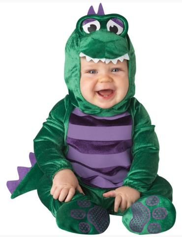 DINKY DINO BABY DRESS UP COSTUME 18-24M BY INCHARACTER