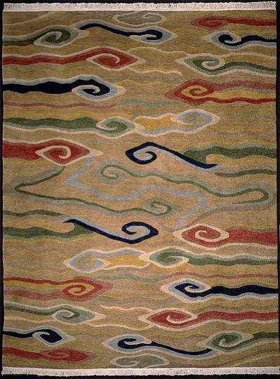 Tibetan Clouds -- possible area rug