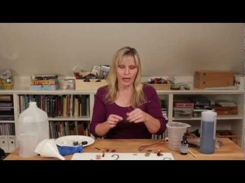Electroforming Tutorial with Sherri Haab  Best electroforming video guide I have found so far.
