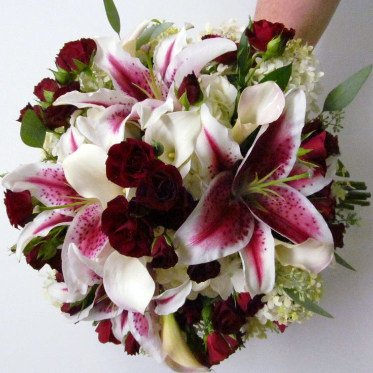 117 best stargazer wedding images on pinterest wedding bouquets we will show you how to make great burgundy flower arrangements choose silk or real flowers if you do a bouquet whenever you do stake your flower mightylinksfo Gallery