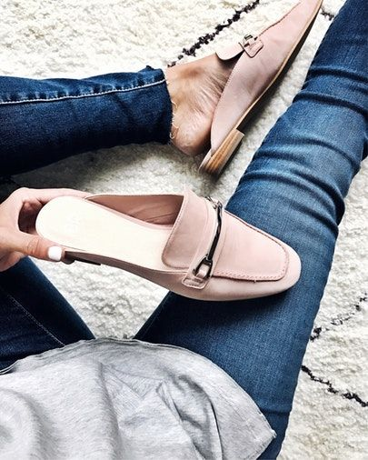 my kind of sweet | The Nordstrom Anniversary Sale 2017 | Fall style | loafer slides | blush shoes | style blogger (affiliated)