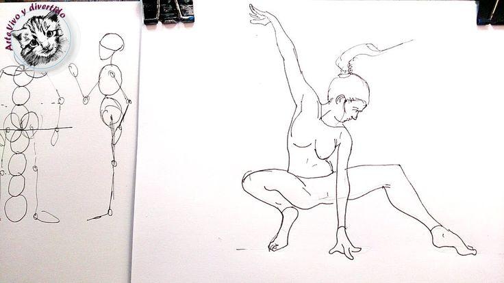 Cómo Dibujar Personas Paso a Paso: Proporciones y Secretos de Dibujo - YouTube