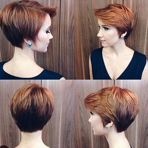 15 best ideas about Red Pixie Haircut on Pinterest