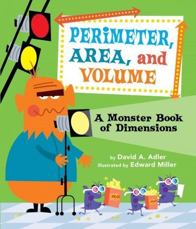 I would read this book to my students when we first introduce perimeter, area and volume. Kids love getting read to and it is a way to reference how to calculate perimeter, area and volume!