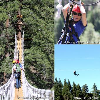 Experience Southern California's premier Zipline Canopy adventure in the rugged San Gabriel Mountains!