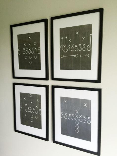 One Room Challenge: Boy's Football Bedroom Reveal - Lemons, Lavender,