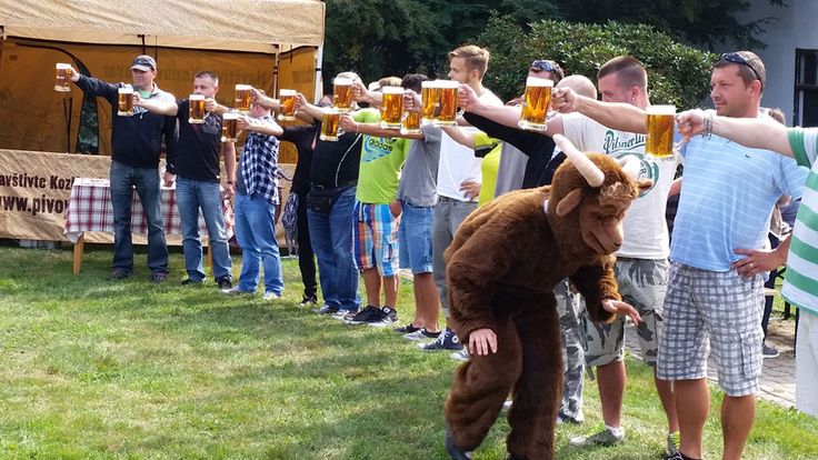 During the year there are many days when breweries open their doors and we have a great time celebrating Czech Beer.