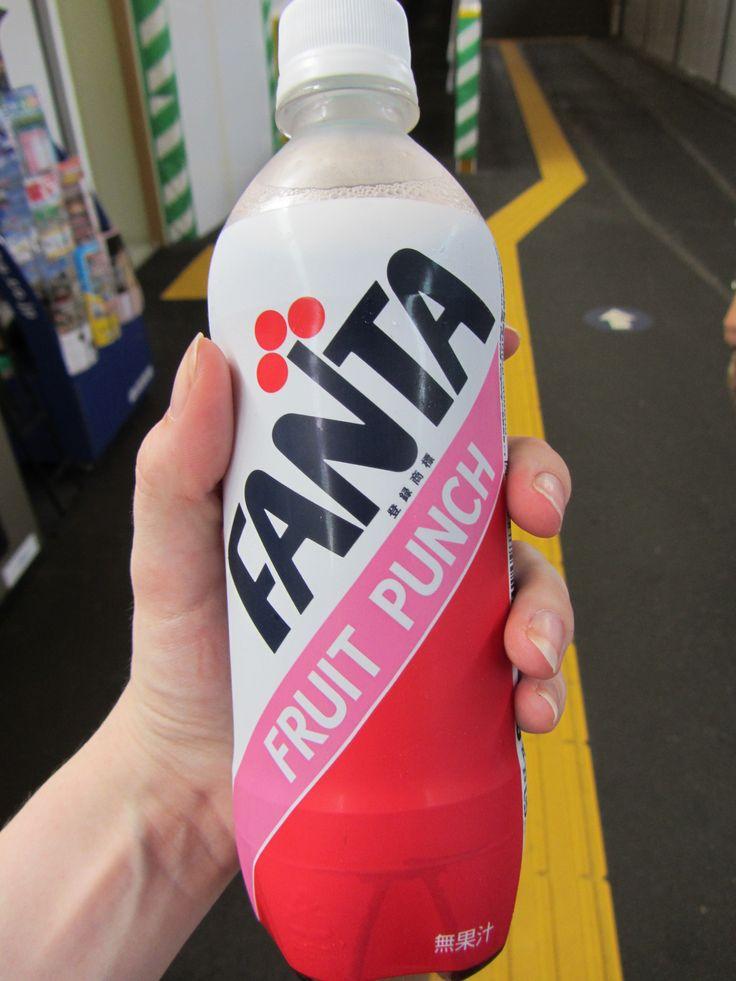 Fanta Fruit Punch from Japan, not bad!