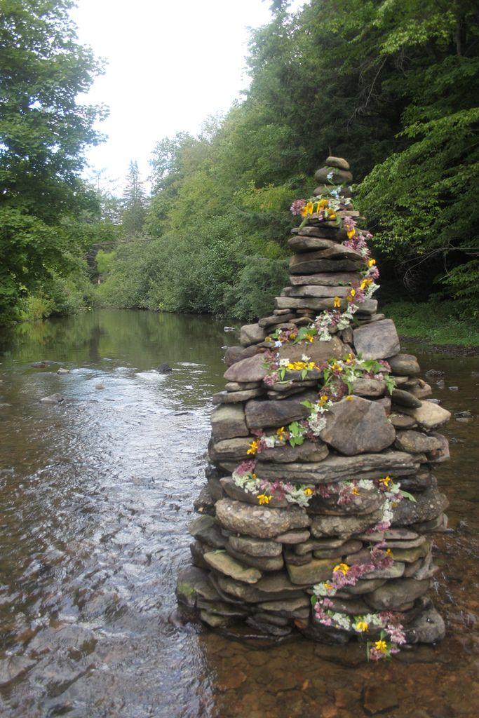 River Rock Sculpture | maureen cracknell | Flickr