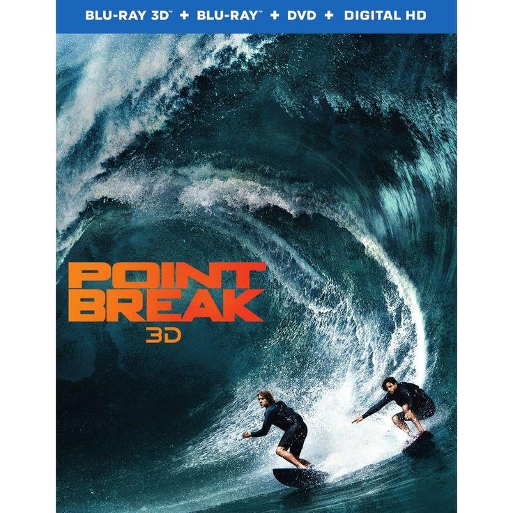 Point Break (2015) (3D/Blu-Ray/DVD/Digital)