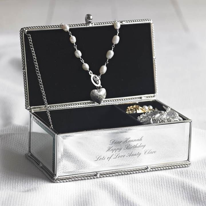 Personalised Jewellery Box - add your names