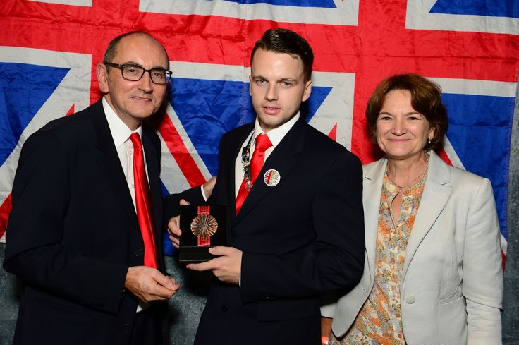 Reece Taylor - awarded the Medal of Excellence for Welding