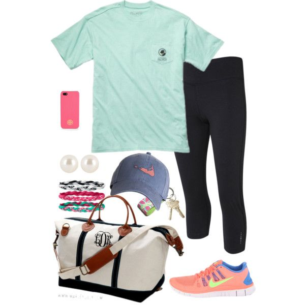 """""""Workout"""" by pinkprep37 on Polyvore"""