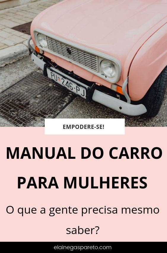 Manual do carro para mulheres