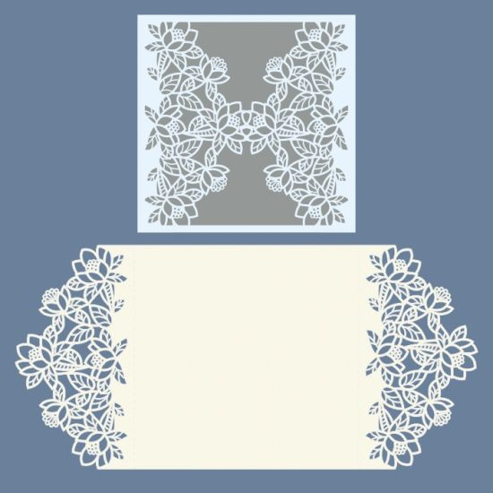 Laser cut wedding invitations template free vector designs every day.