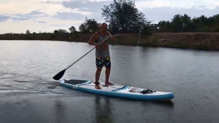 Stand Up Paddling (SUP) Cha Am, Thailand