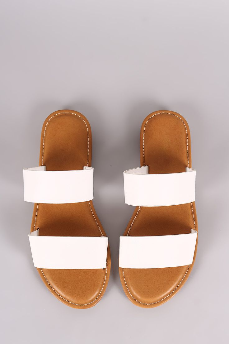 Double Band Slide Sandal | UrbanOG