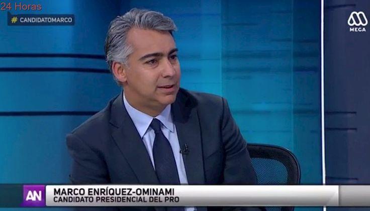 """Marco Enriquez-Ominami: """"Las encuestas se han equivocado casi en todas partes"""""""