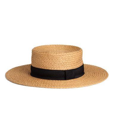 Sombrero de paja | Natural | Mujer | H&M MX