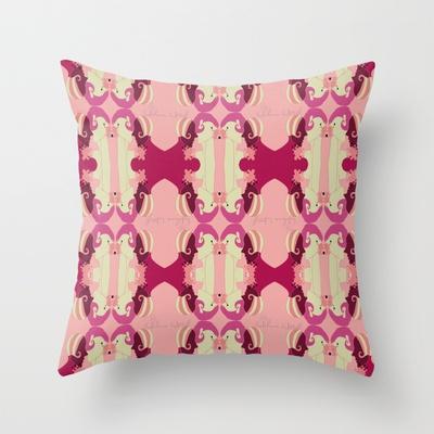 Splash Throw Pillow by Helena Hotzl - $20.00