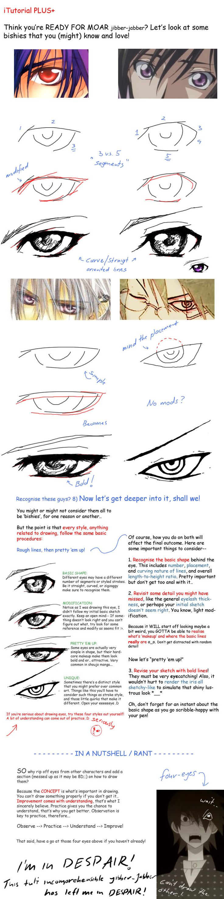 Bishie eye tutorial+ by Looneh