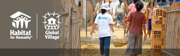 Global Village volunteer program - Habitat for Humanity Int'l - Rehab homes in Romania
