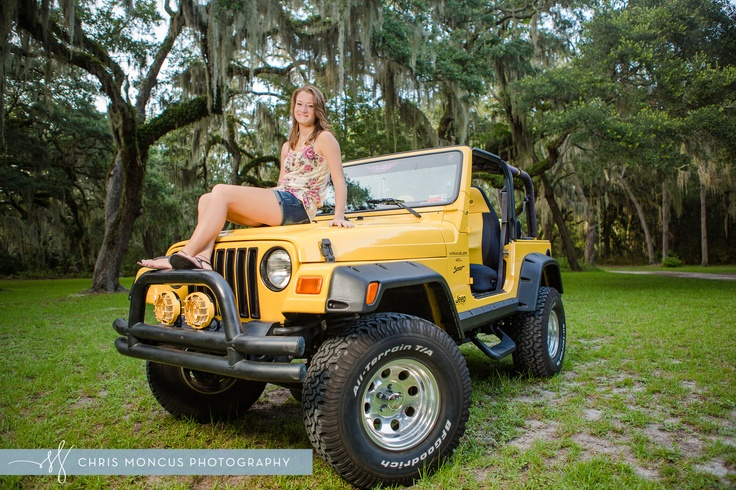 Senior pictures with jeep wrangler - Google Search