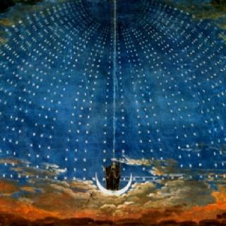 Karl Friedrich Shinkel. The egyptian starry sky of tha nights king. visipix.com