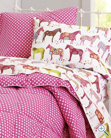 Painted Ponies Percale Bedding Much Better Sheet Set